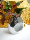 Vaso Metal Argento alto cm. 20 - Sconti per Fioristi e Aziende