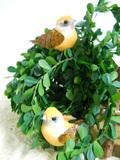 Uccellini x 12  in legno in 2 colori