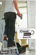 Pistola incollatrice Cord Less  professionale con valigetta
