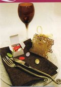 Scatole Traforate Sposini  cm. 8 x 8 H 5 per fioristi e wedding, bomboniere