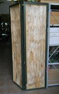 Cornice Legno H 200 con scanalatura larga cm. 50/100/150 spessa cm. 4x4  - Sconti per Fioristi e Aziende