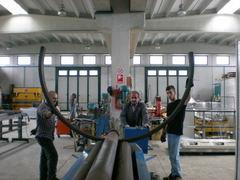 Curvatura profili e tubi acciaio, ferro ed alluminio .... in Palermo, Trapani, Sicilia.