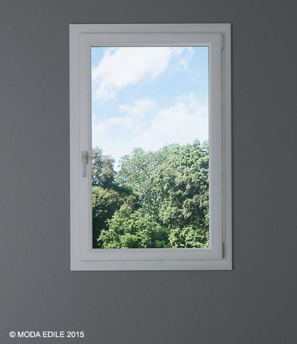 Pvc alluminio korus finestra 1 anta camporeale palermo - Porta finestra alluminio prezzo ...