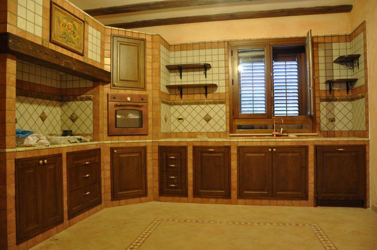 Cucina muratura massello camporeale palermo - Cucine in muratura palermo ...