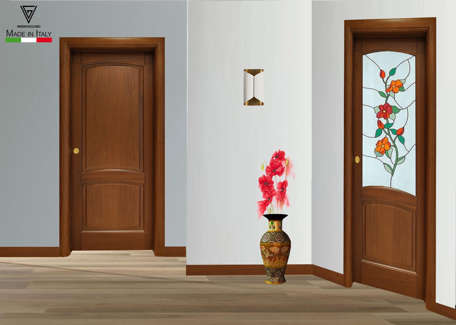 Quanto Costa Porta A Libro porta in massello toulipier art. 100 - camporeale (palermo)