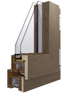 Pvc/Alluminio Korus WinK Wood