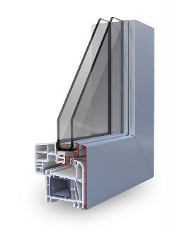Pvc/Alluminio Korus WinK Glass