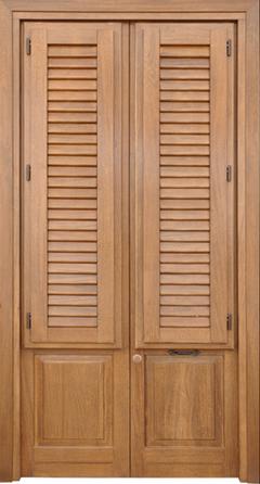 Infissi in legno  Modello  PARMICIANA 2A