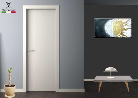 porta tamburata  Art. Liscia