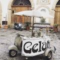 Noleggio Vespa per gelati