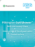 Vetro autopulente Pilkington OptiShower