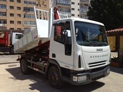 Iveco Eurocargo 100e18 passo 2.700 scarrabile Diesel