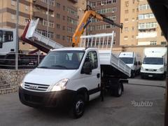 Iveco Daily C15 RIBALTABILE TRILATERALE  E GRU Diesel