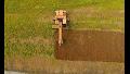 Intervento di assestamento terreno per realizzare impianti di mandorleti