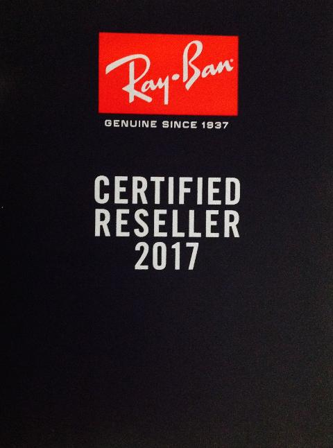 Certified Premium Reseller Ray-Ban 2017