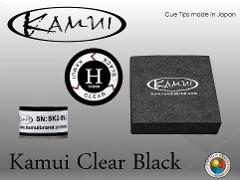 CUOIO  KAMUI BLACK CLEAR HARD DIAM. 14 MM