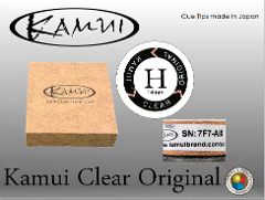 CUOIO  KAMUI ORIGINAL CLEAR HARD DIAM. 14 MM