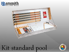 KIT PROFESSIONALE PER POOL ARAMITH STANDARD
