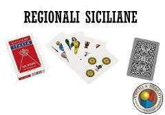 CARTE DAL NEGRO SICILIANE ITALIA ASTUCCIO ROSSO