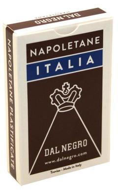 CARTE REGIONALI  MASENGHINI NAPOLETANE ITALIA ASTUCCIO MARRONE