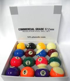 BILIE SET POOL COMMERCIAL GRADE DIAM. 57,2 MM