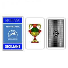 CARTE REGIONALI MODIANO SICILIANE 100% PLASTICA