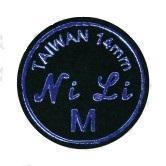 CUOIO  NILI BLACK DIAM. 14 MM