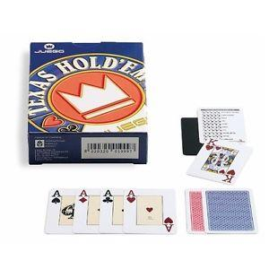 CARTE TEXAS POKER JUEGO TOURNEMENT DORSO BLU