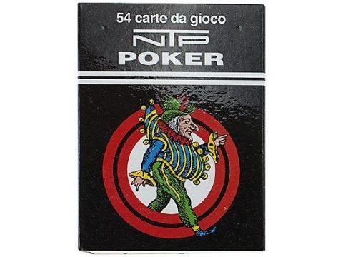CARTE POKER NTP DORSO ROSSO