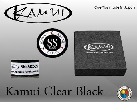 CUOIO  KAMUI BLACK CLEAR SUPER SOFT DIAM. 14 MM