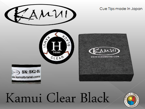 CUOIO  KAMUI BLACK CLEAR HARD DIAM. 14 MM