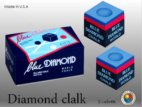 GESSO  DIAMOND DA 2 CUBETTI BLU