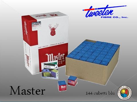 GESSO  MASTER BLU 144 CUBETTI