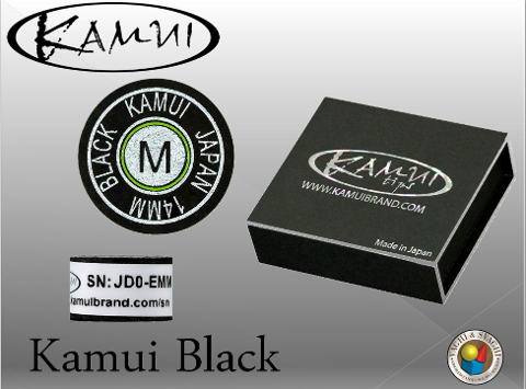 CUOIO  KAMUI BLACK MEDIUM DIAM. 14 MM