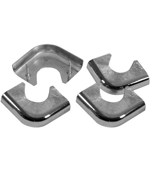 ANGOLARI METALLO  PER POOL  SET 4PZ