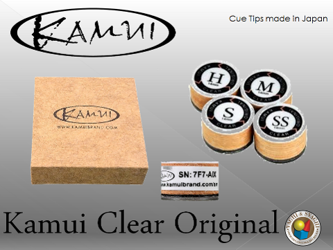 CUOIO  KAMUI ORIGINAL CLEAR MEDIUM DIAM. 14 MM