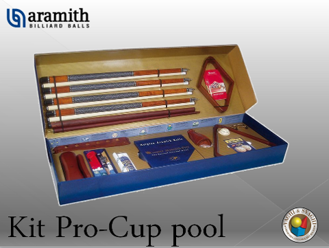 KIT PROFESSIONALEPER POOL ARAMITH PRO CUP