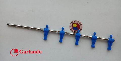 ASTA RIENTRANTE  GARLANDO 5 OMETTO BLU PIEDE QUADRO