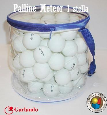 PALLINE GARLANDO METEOR 1 STELLA SET 100 PZ.