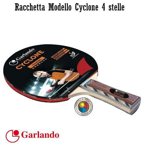 RACCHETTA GARLANDO CYCLONE 4 STELLE