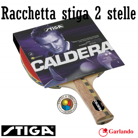 RACCHETTA STIGA CALDERA 2 STELLE