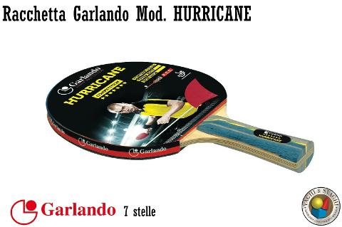 RACCHETTA GARLANDO HURRICANE 7 STELLE