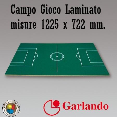 CAMPO GIOCO GARLANDO LAMINATO VERDE C.G. 1225 X 722 X 14