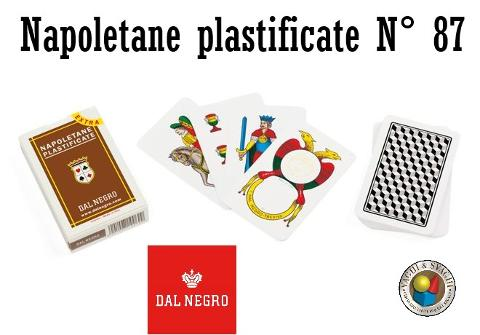 CARTE DAL NEGRO NAPOLETANE N° 87 EXTRA ASTUCCIO MARRONE