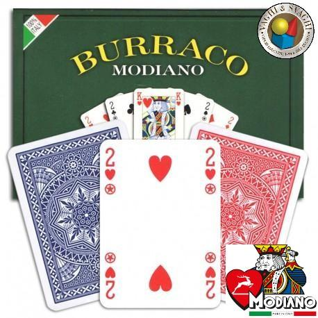 CARTE  MODIANO BURRACO PL CLISTALLO