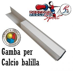 GAMBA PER CALCIO BALILLA ROBERTO SPORT TOP SPEED