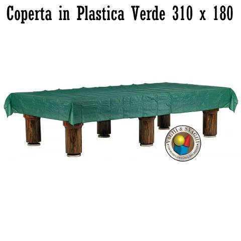 COPERTA  ROBERTO SPORT IN PLASTICA VERDE