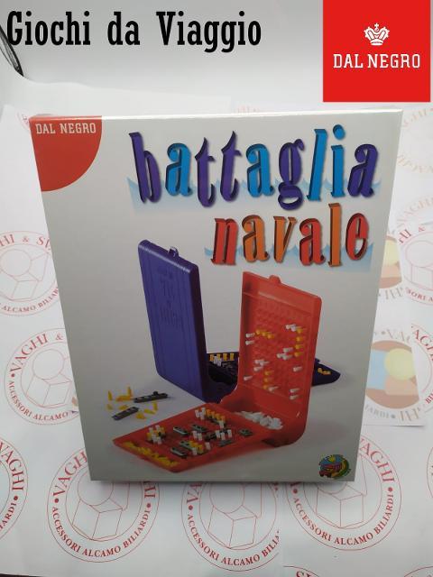 BATTAGLIA NAVALE DAL NEGRO GIOCO DA VIAGGIO