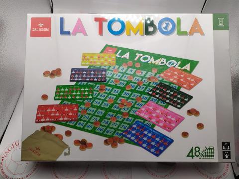 LA TOMBOLA DAL NEGRO 48 CARTELLE