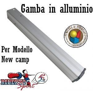GAMBA IN ALLUMINIO ROBERTO SPORT PER MODELLO NEW CAMP E EXPORT
